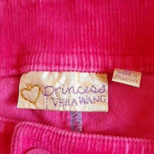 Vera Wang Shorts - Princess vera Wang corduroy pink shorts